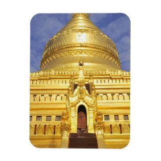 Asia, Myanmar (Burma), Bagan (Pagan). The Shwe Rectangular Photo Magnet