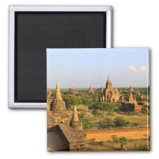 Asia, Myanmar (Burma), Bagan (Pagan). Various 2 Inch Square Magnet