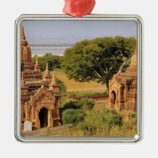 Asia, Myanmar (Burma), Bagan (Pagan). Various 2 Metal Ornament