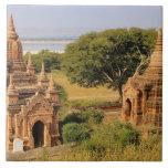 Asia, Myanmar (Burma), Bagan (Pagan). Various 2 Tiles