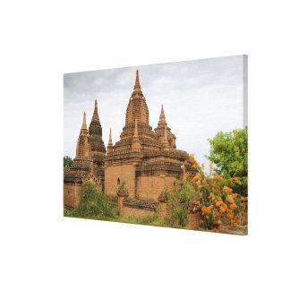 Asia, Myanmar Burma), Bagan Pagan). Various Canvas Print