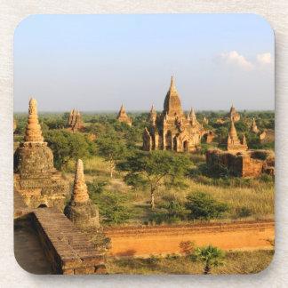 Asia, Myanmar (Burma), Bagan (Pagan). Various Coaster