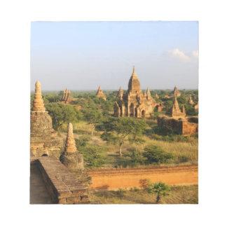 Asia, Myanmar (Burma), Bagan (Pagan). Various Notepad