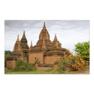 Asia, Myanmar Burma), Bagan Pagan). Various Photo Print