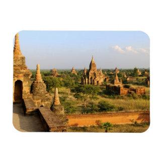 Asia, Myanmar (Burma), Bagan (Pagan). Various Rectangular Photo Magnet