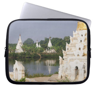 Asia, Myanmar (Burma), Mandalay. A buddhist Computer Sleeve