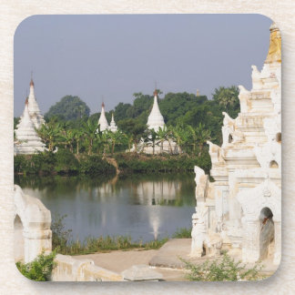 Asia, Myanmar (Burma), Mandalay. A buddhist Drink Coaster