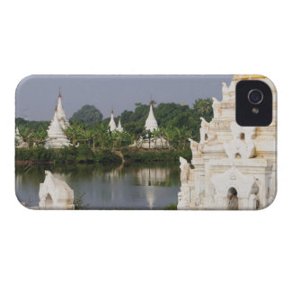 Asia, Myanmar (Burma), Mandalay. A buddhist iPhone 4 Case-Mate Cases