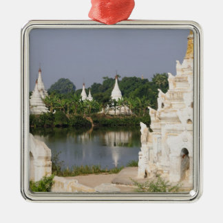 Asia, Myanmar (Burma), Mandalay. A buddhist Metal Ornament