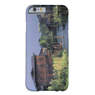 Asia, Myanmar, Inle Lake. A floating village on Barely There iPhone 6 Case