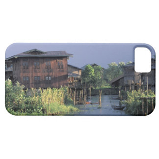 Asia, Myanmar, Inle Lake. A floating village on iPhone SE/5/5s Case