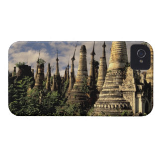 Asia, Myanmar, Inle Lake. Ancient ruins of iPhone 4 Case