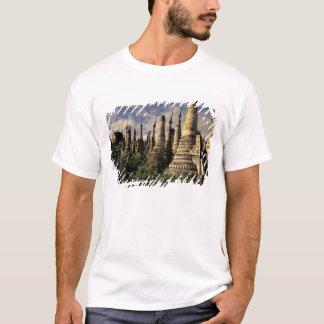 Asia, Myanmar, Inle Lake. Ancient ruins of T-Shirt
