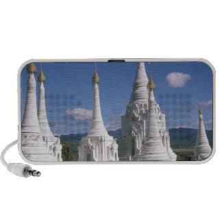 Asia, Myanmar, lago Inle. Pagodas. 2 Mini Altavoz