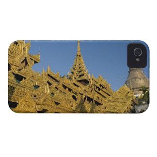 Asia, Myanmar, Yangon. Golden stupa of Shwedagon 2 Case-Mate iPhone 4 Cases