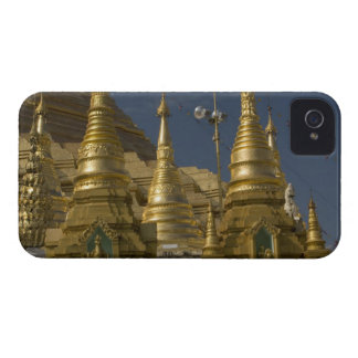Asia, Myanmar, Yangon. Golden stupa of Shwedagon Case-Mate iPhone 4 Case