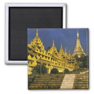 Asia, Myanmar, Yangon. Shwedagon Pagoda at Magnet