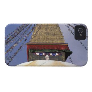 Asia, Nepal, Kathmandu. Bouddhanath Stupa. 2 iPhone 4 Covers