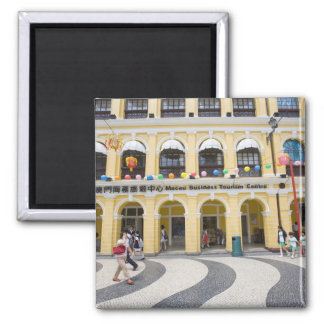 Asia, North-East Asia, China, Macau, Macao, 2 Inch Square Magnet
