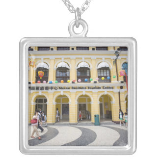 Asia, North-East Asia, China, Macau, Macao, Silver Plated Necklace