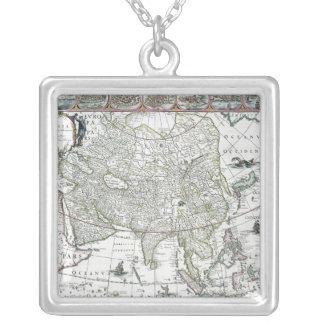Asia noviter delineata, 1617 personalized necklace