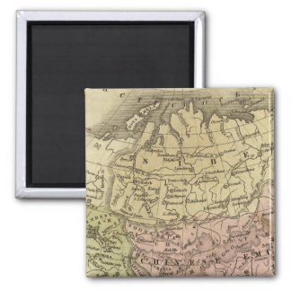 Asia Olney Map Magnets