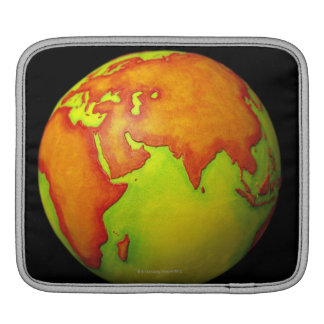 Asia on a Globe iPad Sleeve
