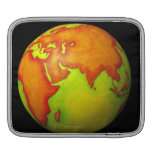 Asia on a Globe Sleeves For iPads