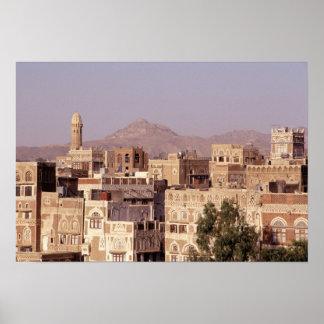 Asia, Oriente Medio, República de Yemen, Sana'a. Posters