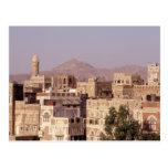 Asia, Oriente Medio, República de Yemen, Sana'a. Tarjetas Postales