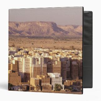 """Asia, Oriente Medio, República de Yemen. Shibam Carpeta 1 1/2"""""""