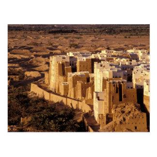 Asia, Oriente Medio, República de Yemen, Shibam Postal