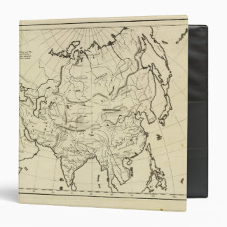 Asia outline map binder