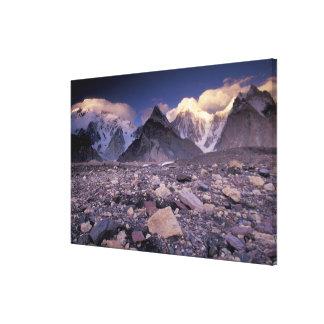 Asia, Pakistan, Karakoram Range, Broad and Canvas Print