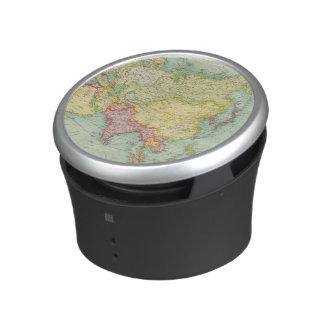 Asia political atlas map speaker