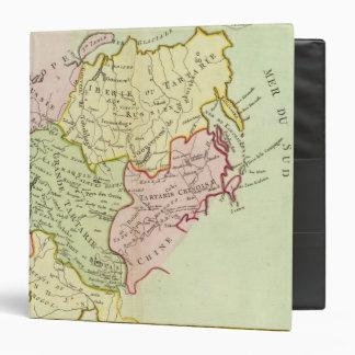 Asia, Russia, China 3 Ring Binder