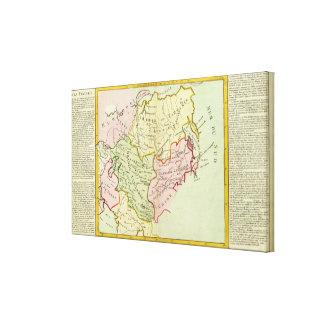 Asia, Russia, China Canvas Print