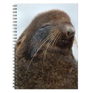 Asia, Russia, Russian Far East, Kamchatkan Spiral Note Book