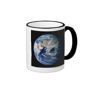 Asia Seen from Space Ringer Coffee Mug