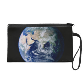 Asia Seen from Space Wristlet Purse