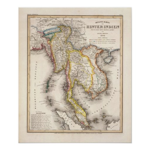 Asia sudoriental póster