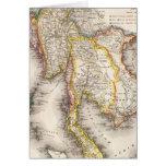 Asia sudoriental tarjeta de felicitación