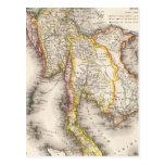 Asia sudoriental tarjeta postal