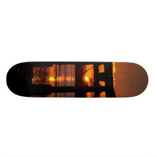 Asia Sunset Skateboard Deck