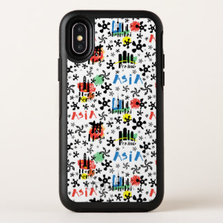 Asia | Symbols Pattern OtterBox Symmetry iPhone X Case