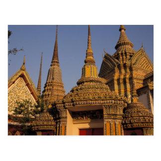 Asia, Tailandia, Bangkok, Wat Po, ciudad más vieja Tarjeta Postal