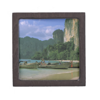 Asia, Tailandia, Krabi. Playa del oeste de Railay, Caja De Regalo De Calidad