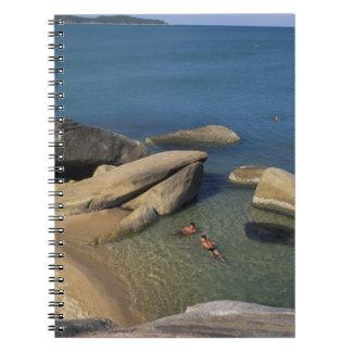 Asia, Tailandia, Samui. Playa Note Book