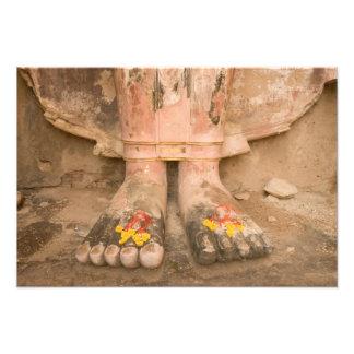 Asia Tailandia, Sukhothai, los pies de Buda y Foto