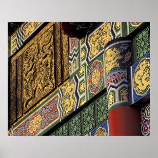 Asia, Taiwan, Taipei. The Grand Hotel, main Poster